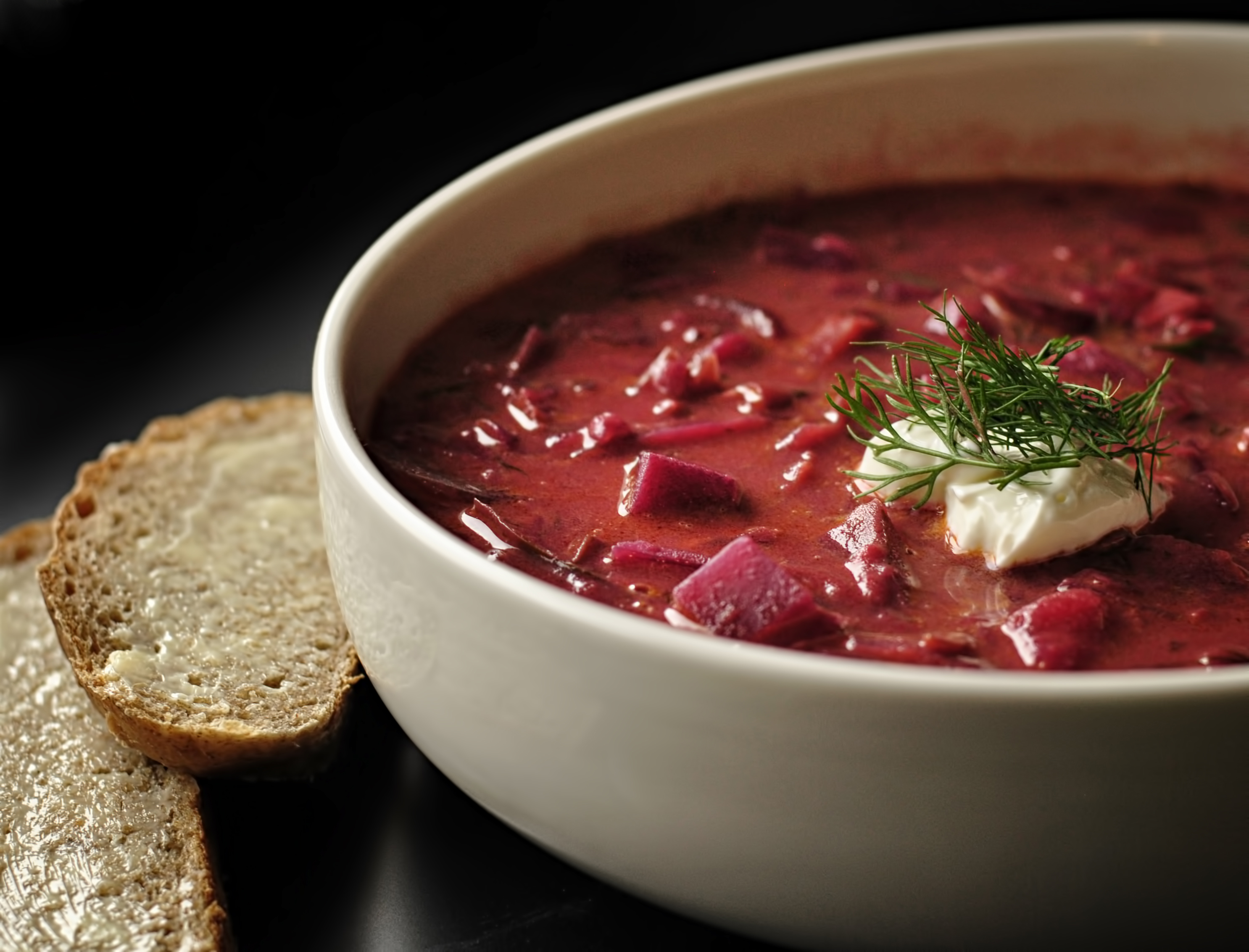This isn't necessarily a post to encourage you to cook some borscht ...