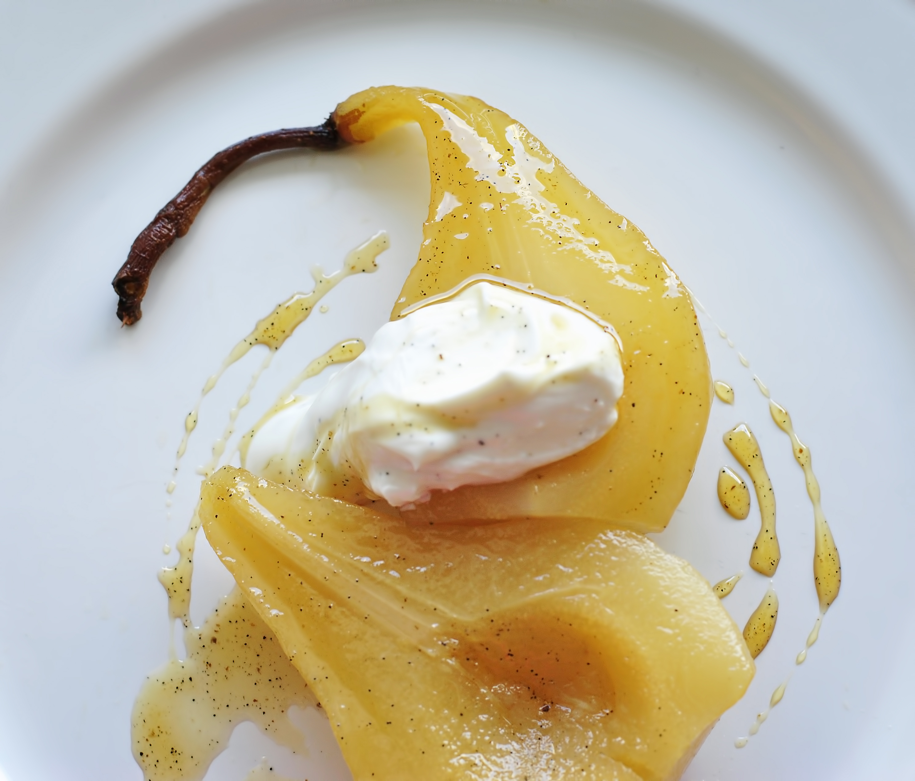 Blue Moon Poached Pears Recipes — Dishmaps
