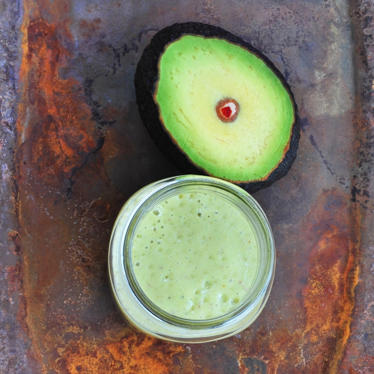 AvocadoSmoothieLightened