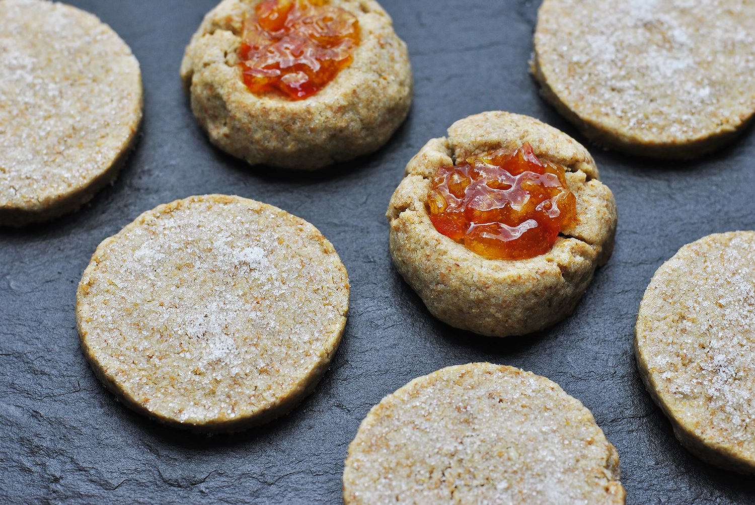 Toasted Sunflower Seed Sable Cookies with Rye + Cardamom – No Thyme ...