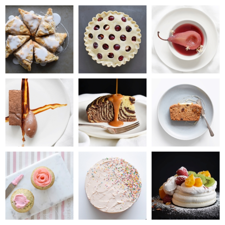 pastry collage